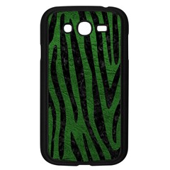 Skin4 Black Marble & Green Leather Samsung Galaxy Grand Duos I9082 Case (black)