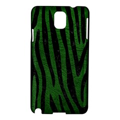 Skin4 Black Marble & Green Leather Samsung Galaxy Note 3 N9005 Hardshell Case