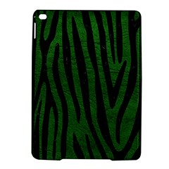 Skin4 Black Marble & Green Leather Ipad Air 2 Hardshell Cases