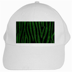Skin4 Black Marble & Green Leather (r) White Cap