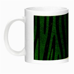 Skin4 Black Marble & Green Leather (r) Night Luminous Mugs