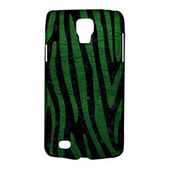 Skin4 Black Marble & Green Leather (r) Galaxy S4 Active