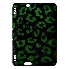Skin5 Black Marble & Green Leather (r) Kindle Fire Hdx Hardshell Case