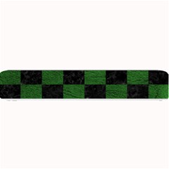 Square1 Black Marble & Green Leather Small Bar Mats