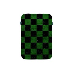 Square1 Black Marble & Green Leather Apple Ipad Mini Protective Soft Cases
