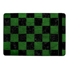 Square1 Black Marble & Green Leather Samsung Galaxy Tab Pro 10 1  Flip Case