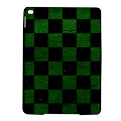 Square1 Black Marble & Green Leather Ipad Air 2 Hardshell Cases