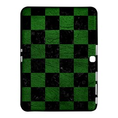 Square1 Black Marble & Green Leather Samsung Galaxy Tab 4 (10 1 ) Hardshell Case