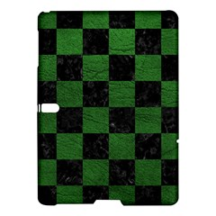Square1 Black Marble & Green Leather Samsung Galaxy Tab S (10 5 ) Hardshell Case