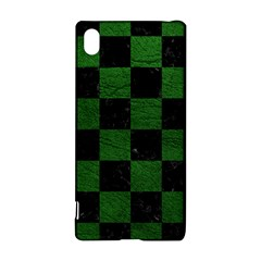 Square1 Black Marble & Green Leather Sony Xperia Z3+