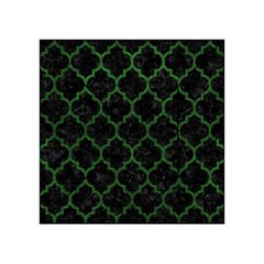 Tile1 Black Marble & Green Leather Acrylic Tangram Puzzle (4  X 4 )