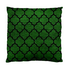 Tile1 Black Marble & Green Leather (r) Standard Cushion Case (two Sides)