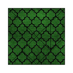 Tile1 Black Marble & Green Leather (r) Acrylic Tangram Puzzle (6  X 6 )