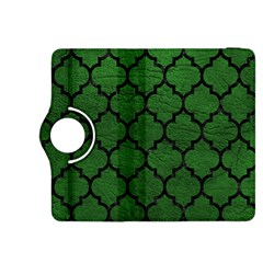Tile1 Black Marble & Green Leather (r) Kindle Fire Hdx 8 9  Flip 360 Case