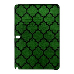 Tile1 Black Marble & Green Leather (r) Samsung Galaxy Tab Pro 12 2 Hardshell Case