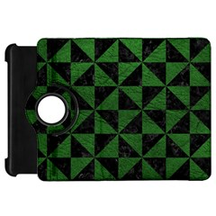 Triangle1 Black Marble & Green Leather Kindle Fire Hd 7