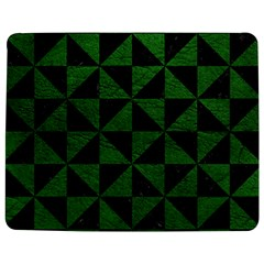 Triangle1 Black Marble & Green Leather Jigsaw Puzzle Photo Stand (rectangular)