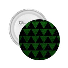 Triangle2 Black Marble & Green Leather 2 25  Buttons