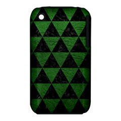 Triangle3 Black Marble & Green Leather Iphone 3s/3gs