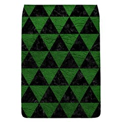 Triangle3 Black Marble & Green Leather Flap Covers (s)