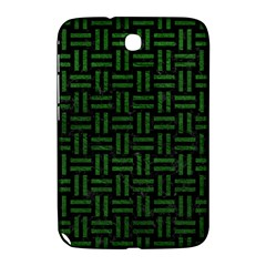 Woven1 Black Marble & Green Leather Samsung Galaxy Note 8 0 N5100 Hardshell Case