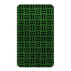 Woven1 Black Marble & Green Leather (r) Memory Card Reader