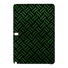 Woven2 Black Marble & Green Leather Samsung Galaxy Tab Pro 10 1 Hardshell Case