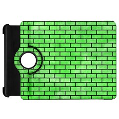 Brick1 Black Marble & Green Watercolor (r) Kindle Fire Hd 7