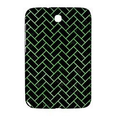 Brick2 Black Marble & Green Watercolor Samsung Galaxy Note 8 0 N5100 Hardshell Case