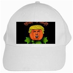 Trump Or Treat  White Cap