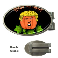 Trump Or Treat  Money Clips (oval)