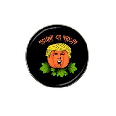 Trump Or Treat  Hat Clip Ball Marker (4 Pack)