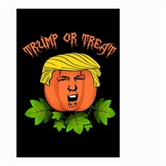 Trump Or Treat  Small Garden Flag (two Sides)