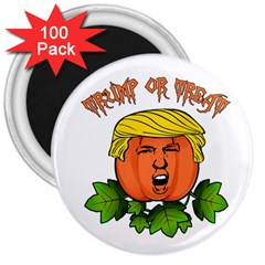 Trump Or Treat  3  Magnets (100 Pack)