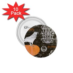 Vintage Halloween 1 75  Buttons (10 Pack)
