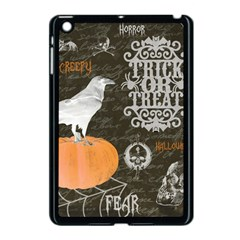 Vintage Halloween Apple Ipad Mini Case (black)