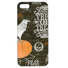 Vintage Halloween Apple Iphone 5 Hardshell Case With Stand