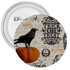 Vintage Halloween 3  Buttons