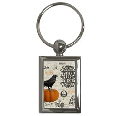 Vintage Halloween Key Chains (rectangle)