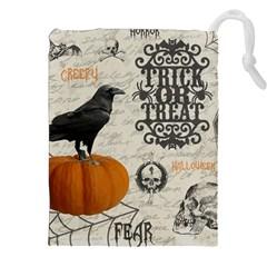 Vintage Halloween Drawstring Pouches (xxl)