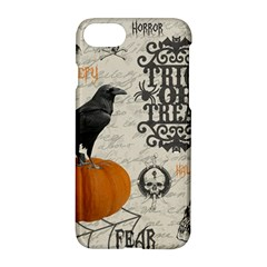Vintage Halloween Apple Iphone 7 Hardshell Case