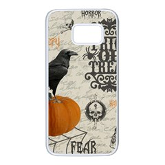 Vintage Halloween Samsung Galaxy S7 White Seamless Case