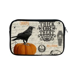 Vintage Halloween Apple Macbook Pro 13  Zipper Case