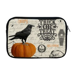 Vintage Halloween Apple Macbook Pro 17  Zipper Case