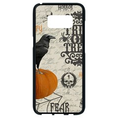 Vintage Halloween Samsung Galaxy S8 Black Seamless Case