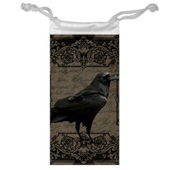 Vintage Halloween Raven Jewelry Bag