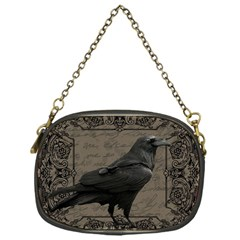 Vintage Halloween Raven Chain Purses (one Side)
