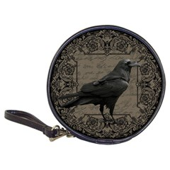 Vintage Halloween Raven Classic 20 Cd Wallets