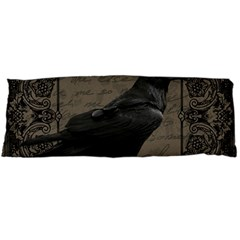 Vintage Halloween Raven Body Pillow Case (dakimakura)