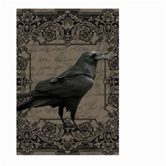 Vintage Halloween Raven Large Garden Flag (two Sides)